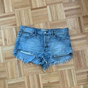 Loving good vibration cutoffs free people shorts
